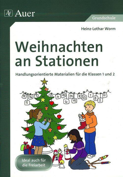 Weihnachten an Stationen 1./2. Klasse - Auer Verlag GmbH - Verlag Este
