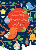 Durch den Advent - Malen und Stickern