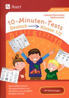 10-Minuten-Tests - Deutsch - Klasse 1/2