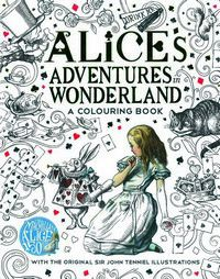 Alice Adventures in Wonderland - A colouring Book