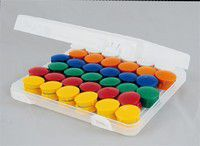 Haft-Magnet-Set in Box (20-tlg. 38mm)