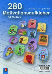 280 Motivationsaufkleber - 14 Motive